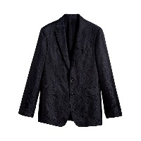 Burberry Soho fit spotted evening jacket - ブルー