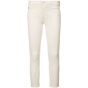 Ag Jeans cropped skinny jeans - ホワイト