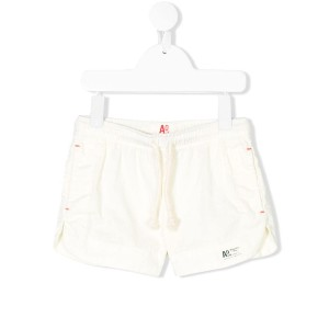 American Outfitters Kids ロゴ ショートパンツ - ホワイト