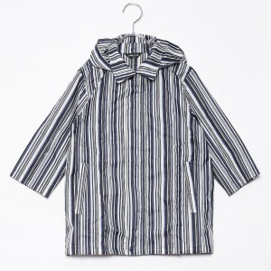 【SALE 28%OFF】コムサイズム COMME CA ISM 縞柄レインコート(キッズサイズ) (オフ)