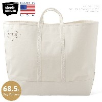 Steele Canvas Basket スチールキャンバス・バスケット #180 NATURAL キャンバス トートバッグ LARGE - MADE IN USA