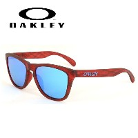 OAKLEY オークリー サングラス Frogskins フロッグスキン (Asia Fit) Matte Red Woodgrain oo9245-56 54 【雑貨】【サングラス】日本正規品...