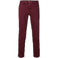 Jacob Cohen handkerchief slim fit chinos - レッド