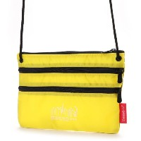 マンハッタンポーテージ Manhattan Portage CORDURA® Lite Collection Triple Zipper Pouch(L) (Yellow) レディース メンズ