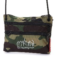 マンハッタンポーテージ Manhattan Portage CORDURA® Lite Collection Triple Zipper Pouch (W.Camo) レディース メンズ