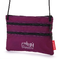 マンハッタンポーテージ Manhattan Portage CORDURA® Lite Collection Triple Zipper Pouch(L) (Purple) レディース メンズ