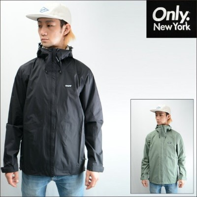 ONLY NY WATER PROOF TRANSIT SHELL JACKET (2色展開) オンリーニューヨーク ジャケット マウンテンパーカー ナイロンジャケット アウター ONLY NEW...