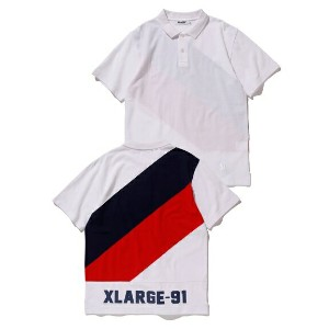 XLARGE(エクストララージ)S/S PANELED POLO SHIRT