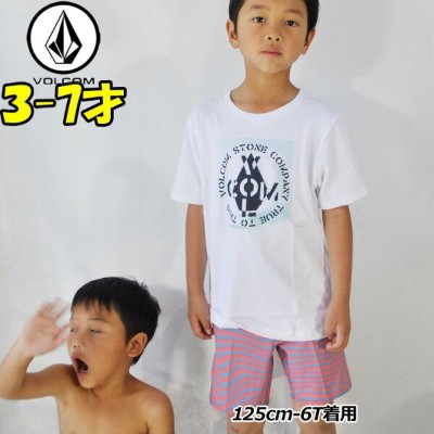 volcom ボルコム キッズ Tシャツ 3-7歳 Cage S/S Tee Youth LY Little Youth ユース 半そで Y3521803