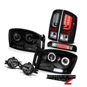 ヘッドライト 2007-2009 Dodge Ram 3500 WS Tail Lamps Headlights Fog Roof Brake Light Neon Tube 2007-2009...