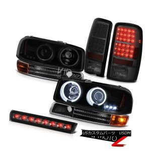 ヘッドライト Projector Headlights CCFL Halo L.E.D Tail Lights Brake Cargo LED 2000-2006 Yukon プロジェクターヘッドライ...