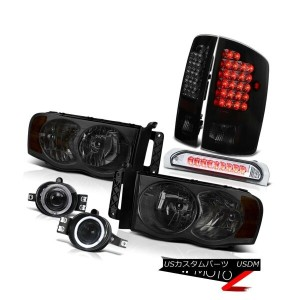 ヘッドライト Ram 3500 5.9L Laramie DRL Head Lights+Driving Fog+3rd Brake Cargo+LED Tail Lamps Ram 3500 5...