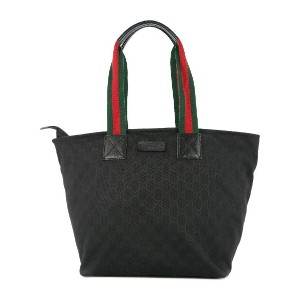 Gucci Pre-Owned GG シェリーライン トートバッグ - ブラック