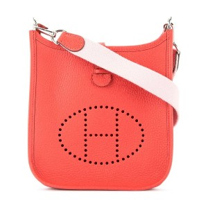 Hermès Vintage Evelyne TPM crossbody bag - レッド
