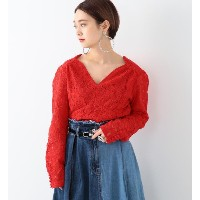 sister jane / Scarlet Lace Tops【ビームス ウィメン/BEAMS WOMEN レディス Tシャツ・カットソー RED ルミネ LUMINE】