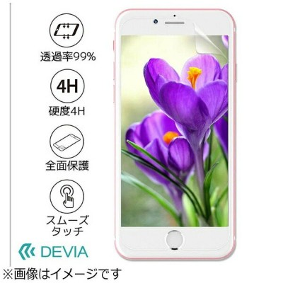 BELEX iPhone 7用 High Transparent Screen Protector (Front & Back) クリア Devia BLDVSP7008