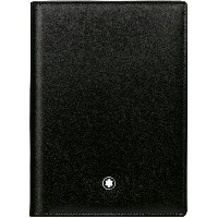 メンズ MONTBLANC Meisterstück Wallet 4cc View Pocket Black 財布  ブラック