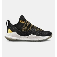 Under Armour アンダーアーマー Curry 5 (GS) 3020741 Takeover Edition カリー 5 黒金 バスケット シューズ ビッグキッズ 取り寄せ商品