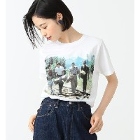 Stand by me / Tシャツ【ビームス ウィメン/BEAMS WOMEN レディス Tシャツ・カットソー WHITE ルミネ LUMINE】