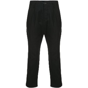 The Viridi-Anne cropped trousers - ブラック