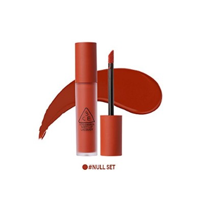 [3CE] ソフトリップロッカー海外直送品 Soft Lip Lacquer (Null Set) [並行輸入品]
