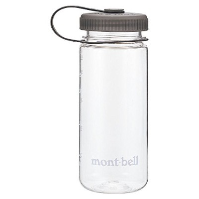 (mont-bell)モンベル クリアボトル (0.5L, クリア×グレー(CL/GY))