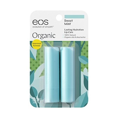 EOS LIP BALM sweet mint(2PACK)