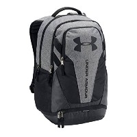 UNDER ARMOUR/ア ンダーアーマー/UA HUSTLE 3.0 BACKPACK/リュックサック/バックパック (Graphite/black/black)