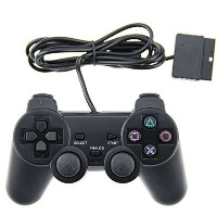 Mosuch PS2 Wired Controller for Sony PlayStation 2 Black [並行輸入品]