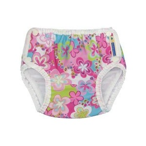 Mother-ease Swim Diapers (Large 27-33 lbs, Splashing Daisies) by Mother ease Cloth Diapers