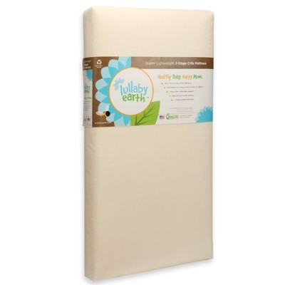Lullaby Earth Healthy Support Crib Mattress 2-stage by Lullaby Earth [並行輸入品]