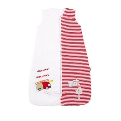SlumberSafe Baby Cotton Sleep Sack Wearable Blanket 2.5 Tog Fire Engine 0-6 months SMALL by...