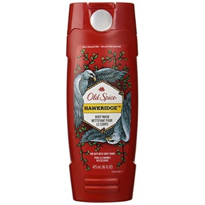 Old Spice Wild Collection Hawkridge Scent Body Wash, 16 Fluid Ounce [並行輸入品]