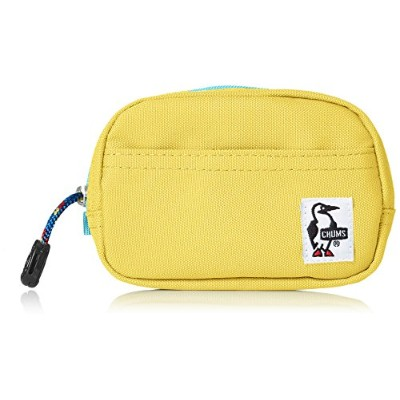 [チャムス]ポーチ Eco Dual Soft Case Lemon