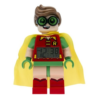 LEGO Batman Movie Robin Minifigure Clock