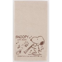 SNOOPY with Music スヌーピー SCLOTH-CL 楽器用クロス