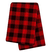 Trend Lab Swaddle Blanket, Brown and Red Buffalo Check by Trend Lab