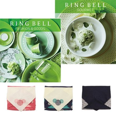CONCENT・【風呂敷包み】リンベル RING BELL カタログギフト オリオン&ダイアナ 風呂敷 ピンク