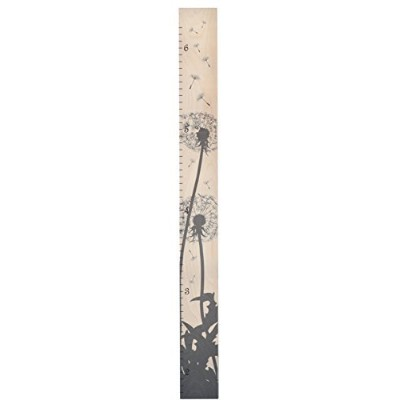 Growth Chart Art Presents: Wooden Growth Chart Ruler for Boys & Girls To Measure Height of Kids,...