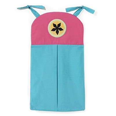 One Grace Place Magical Michayla Diaper Stacker, Pink and Turquoise by One Grace Place [並行輸入品]