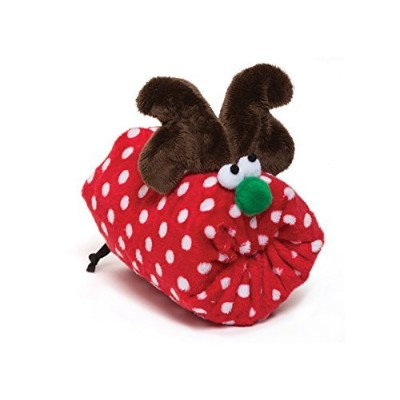 West Paw Holiday Dog Toy Rudy Red Dot