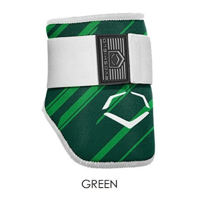 EVOSHIELD MLB BATTERS SPEED STRIPE ELBOW GUARD エルボーガード 肘当て 各色 (2046120) (GREEN(343)) [並行輸入品]