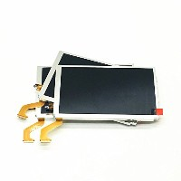 HZjundasi Replacement Upper Top LCD Touch スクリーン Display for Nintendo 3DSLL/3DSXL Console
