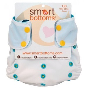 Smart Bottoms Too Smart Cloth Diaper OS COVER (Miami) by Smart Bottoms