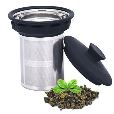 Stainless Steel Tea Infuser by HOUSE AGAIN, Extra Fine Mesh Strainer for Loose Leaf Tea by HOUSE...