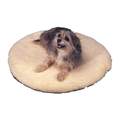 Allied Precision ALLIEDPR12PBR Round Heated Pet Bed by Allied Precision Industries