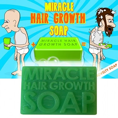 Miracle Hair Growth Soap by Giggle Beaver