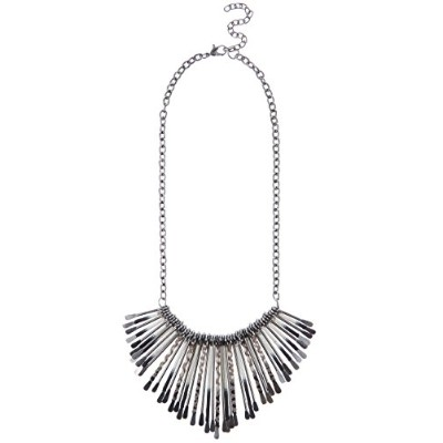 ペンダントNew Look Thread Wrapped Spike Necklace of 45-53cm[並行輸入]