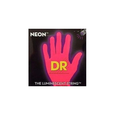 DR/NEON Guitar String Neon Red DR-NRE  DR-NRE10 エレキギターネオン弦