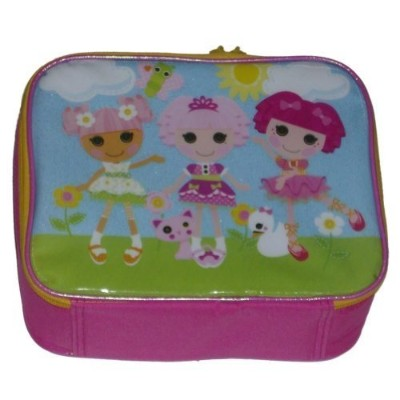 Starpoint Lalaloopsy Soft Lunch Box Insulatedバッグキュート3 Dolls Lunchbox